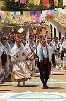 Fiesta de los Pecados y Danzantes (festival of sins and dancers), Camuñas, Toledo province, Spain