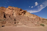 Chaco ruins in the Chaco culture National Park New mexico USA
