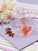rose tea, cuisine, tea, drink, beverage, food