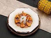 dishes, Food styling, dish, dishes, dish, Chinese, Chili shrimp