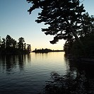 Lake of the Woods at Twilight