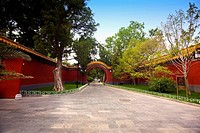 Entrance of the park, Beijing Zhongshan Park, Beijing, China