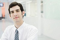 Businessman confidently looking at camera, portrait
