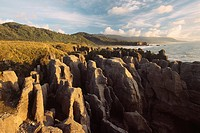 New Zealand _ South Island _ West coast _ Punakaiki _ Pancake rocks
