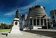 New Zealand - North Island - Wellington - The Beehive (thumbnail)