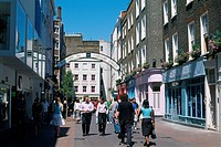 England _ London _ Soho district _ tourists in Carnaby Street