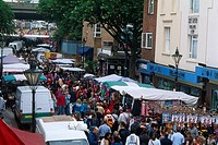 England - London - District Notting Hill - Portobello Road Market (thumbnail)