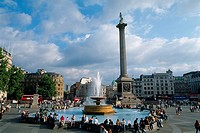 England _ London _ St Jame's district _ Trafalgar Square
