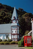 New Zealand _ South Island _ Nelson _ St Peter's church