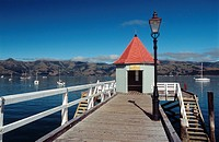 New Zealand _ South Island _ Canterbury _ Banks Peninsula _ Akaroaa