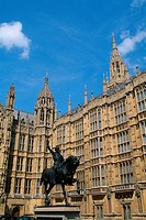 England _ London _ Westminster District _ Houses of Parliament
