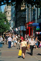 England _ London _ Soho and Mayfair district _ Oxford Street