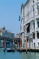 Italy _ Venice _ The Grand Canal _ palazzo _ mooring