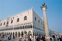 Italy _ Venice _ St Mark's square _ The Doge's Palace _ The piazetta