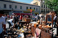 Spain _ Madrid _ El Rastro _ a gigantic fleamarket and antiques dealers