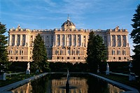 Spain _ Madrid _ Palacio Real _ Royal Palace _ Sabatini Gardens