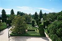 Spain _ Madrid _ Sabatini Gardens _ Jardines de Sabatini