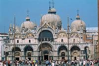 Italy _ Venice _ Saint Mark´s Basilica _ facade