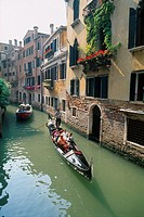 Italy _ Venice _ Channels _ Venitian structure