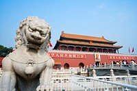 China - Beijing PÚkin - Tian'anmen Square and The Gate of Heavenly Purity (thumbnail)