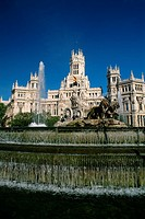 Spain _ Madrid _ Plaza de las Cibeles _ The Cibeles fountain _ Communications Palace