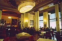 Spain _ Madrid _ Calle _ Alcala _ Circle of Fine Arts _ CBA _ the cafe