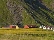 Village near mountain, Norway
