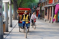 China _ Beijing PÚkin _ Hutongs District _ Ricksha