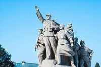 China _ Beijing PÚkin _ Tian'anmen Square _ Heroes of the People Monument