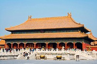 China _ Beijing PÚkin _ Forbidden City _ The Rightness Gate Duanmen _ The Palace of Heavenly Purity Qianqing gong