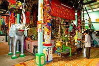 Vietnam _ The South _ The Delta of Mekong _ Soc Trang _ Clay Pagoda Chua Dat Set