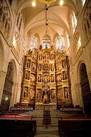 Spain _ Castile and Leon _ Burgos _ Cathedral _ Piece of the high altar