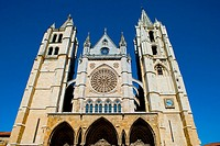 Spain _ Castile and Leon _ Leon _ Cathedral