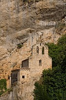 Spain _ Castile and Leon _ Province of Burgos _ Frias _ La Bureba _ Tobera Church