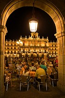 Spain _ Castile and Leon _ Salamanca _ Plaza Mayor