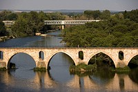 Bridge, Zamora. Castilla-Leon, Spain