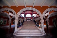 Interiors of a palace, Palacio De Gobierno, Aguascalientes, Mexico