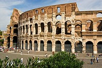The Colosseum  Rome, Lazio, Italy