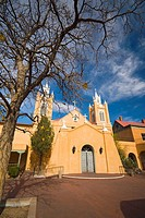 USA  New Mexico  Albuquerque  Old Town  San Felipe de Neri Church