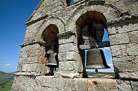 Ruins of the romanesque church of Retortillo. Reinosa. Cantabria. Spain