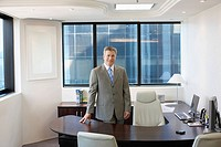 Portrait of CEO in his office