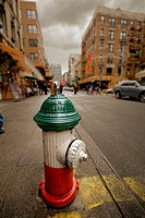 Hydrant in Little Italy, Manhattan, NYC, USA