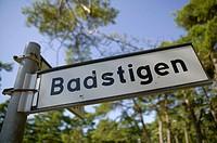 Sign _ Badstigen