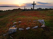 Englishgraveyard, Hanö, Sweden, Hanö, Blekinge, Sweden