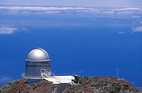La Palma, Canaries, Spain, Observatory on Roques de los Muchachos