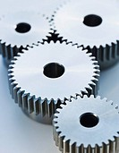 Close up of cog wheels