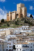 Castle of the Marquis of Velez, Velez-Blanco. Almeria province, Andalucia, Spain