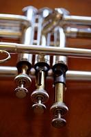 Keys of trumpet