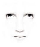 weißes beauty gesicht