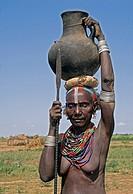 Galeb_Frau, Süd_Äthiopien